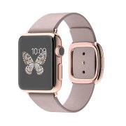Apple Watch 38mm 18-Karat Rose Gold Case with Rose Gray Modern Buckle