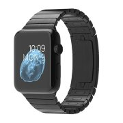 Apple Watch 38mm Space Black Stainless Steel Case with Space Black Stainless Steel Link Bracelet